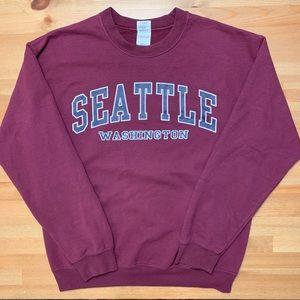 Seattle Crewneck Sweater